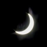 tła czerń projekta zaćmienia ilustracja słoneczna Zdjęcia Royalty Free