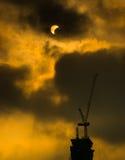 tła czerń projekta zaćmienia ilustracja słoneczna Zdjęcie Royalty Free