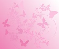 tła czereśniowych kwiatów różowy drzewo Fotografia Royalty Free