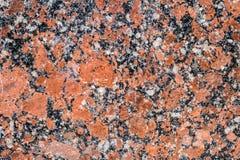 Tła czerni czerwony kamień, marmur Fotografia Stock