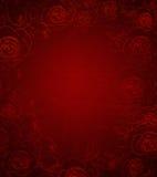 tła czerwieni różany rocznik Obrazy Royalty Free