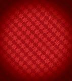 tła czerwony płatka śniegu xmas royalty ilustracja