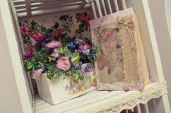 tła dekoraci szczegółu eleganci kwiatu zaproszenia faborku ślub fotografia stock