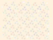 tła dekoracyjnego projekta graficzny ilustracyjny płatków śniegów wektor Zdjęcie Royalty Free