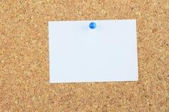 tła deski korka nutowy papier uschnięty Obrazy Stock