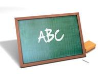 tła deski projekta ilustraci szkoły biel Zdjęcia Stock