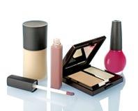 tła dof odizolowywający makeup płycizny biel Obraz Royalty Free
