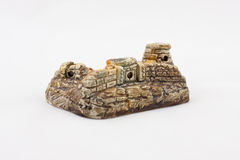 tła dolmenu odosobniony pamiątkarski biel Obrazy Royalty Free