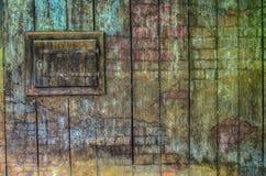 tła drewniany stary ścienny zdjęcia stock