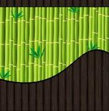 tła drewno bambusowy naturalny royalty ilustracja