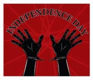 tła dzień grunge niezależność retro Fotografia Stock