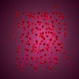 tła dzień s valentine Obrazy Stock