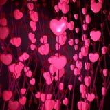 tła dzień s valentine Zdjęcia Stock