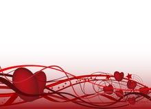 tła dzień s valentine Zdjęcia Royalty Free
