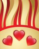 tła dzień s valentine ilustracji