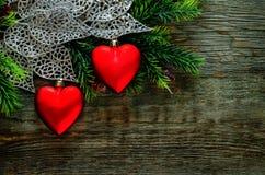 tła dzień serc s valentine Fotografia Stock