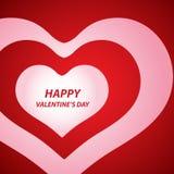 tła dzień serc s valentine Obraz Royalty Free