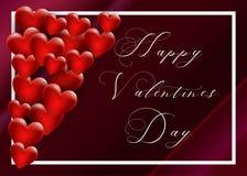 tła dzień serca valentines wektor zdjęcia stock