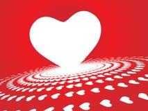tła dzień valentine Obrazy Stock