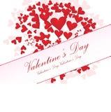 tła dzień valentines Zdjęcie Royalty Free