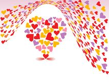 tła dzień valentines Obrazy Royalty Free