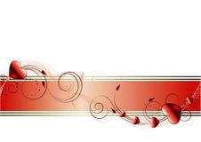tła dzień valentines Zdjęcie Stock