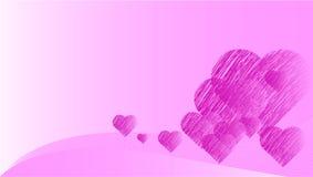 tła dzień valentines ilustracja wektor