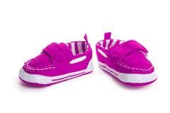 tła dzieci ilustracja odizolowywający buty vector biel E zdjęcia royalty free
