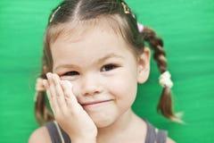 tła dziewczyny zieleń obrazy royalty free