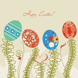 tła Easter jajka Obrazy Stock