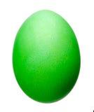 tła Easter jajka ilustracja odizolowywający wektorowy biel Wielkanocnego jajka zielony kolor Zdjęcie Stock