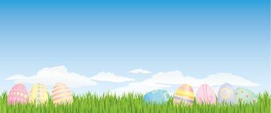 tła Easter jajko ilustracja wektor