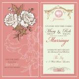 tła eleganci serc zaproszenia romantycznego symbolu ciepły ślub obrazy stock