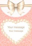 tła eleganci serc zaproszenia romantycznego symbolu ciepły ślub Obraz Stock