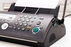 tła faksu ilustraci maszyny biel zdjęcia stock