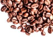 tła fasoli biel kawy kopia odizolowywał lewy astronautycznego biel kawa piec obraz stock