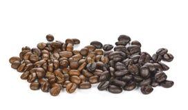 tła fasoli kawy odosobnionego strzału pracowniany biel Zdjęcia Royalty Free