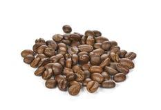 tła fasoli kawy odosobnionego strzału pracowniany biel Fotografia Royalty Free