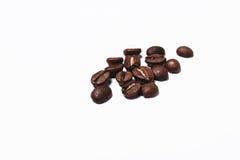 tła fasoli kawy odosobnionego strzału pracowniany biel zdjęcie stock