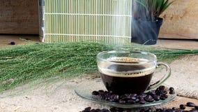 tła filiżanki kawa espresso odosobniony ścieżki biel Zdjęcia Stock