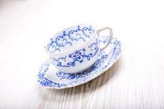 tła filiżanki odosobniony herbaciany biel fotografia royalty free
