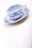 tła filiżanki odosobniony herbaciany biel Zdjęcia Stock