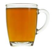 tła filiżanki szklany herbaciany biel Obrazy Stock