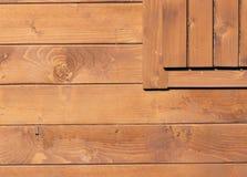 tła formata surowy ścienny drewniany Zdjęcia Stock