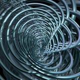 tła fractal pierścionki Obrazy Stock