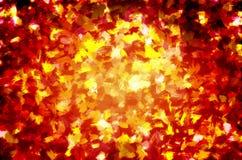 tła gałęziasty kwiecisty złocisty ilustraci wzoru czerwieni wektor Obrazy Royalty Free