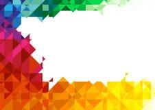 tła geometryczny kolorowy Obrazy Royalty Free