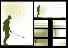 tła golfa wektor Zdjęcie Stock