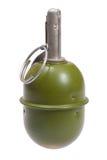 tła granata ręki odosobniony biel Fotografia Royalty Free
