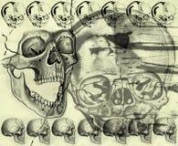 tła grunge Halloween styl ilustracji